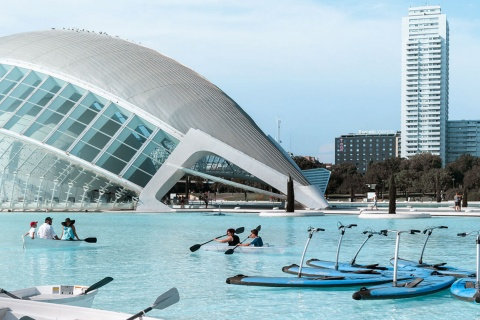 City of Arts and Sciences in Valencia (Valencian Community)