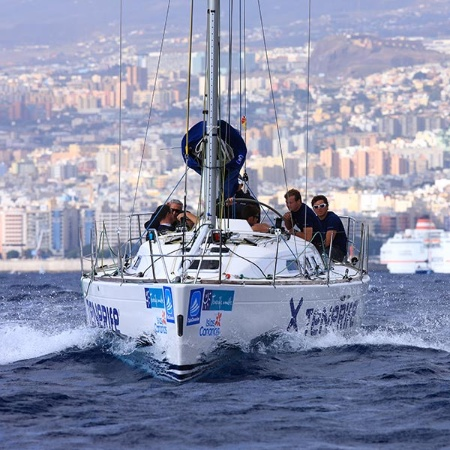 Sailing competition, Santa Cruz de Tenerife