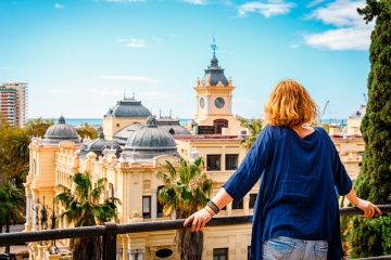 Views of Malaga