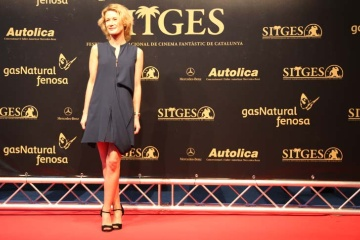 Astrid Whettnal at the Catalonia International Fantastic Film Festival - Sitges
