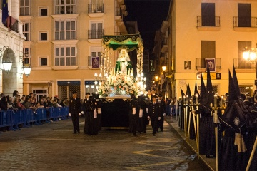 Procession during Easter Week in Gandía (Valencia)