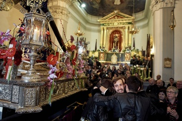 The chapel of La Sangre during Easter Week in Sagunto (Valencia)