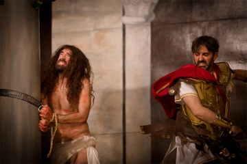 Passion Play during Easter Week in Sagunto (Valencia)