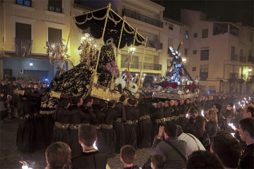 The Painful Meeting during Easter Week in Sagunto (Valencia)
