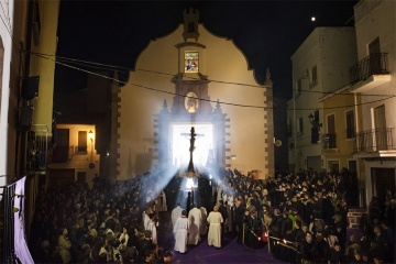 The Silent Procession during Easter Week in Sagunto (Valencia)