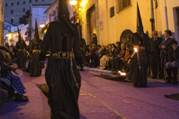 Good Friday procession during Easter Week in Sagunto (Valencia)