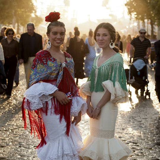 The April Fair in Seville (Andalusia)