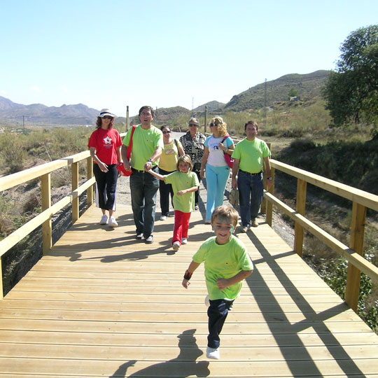 Greenway in Lucainena de las Torres
