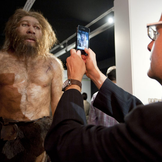 Exhibition in the Museum of Human Evolution, Burgos