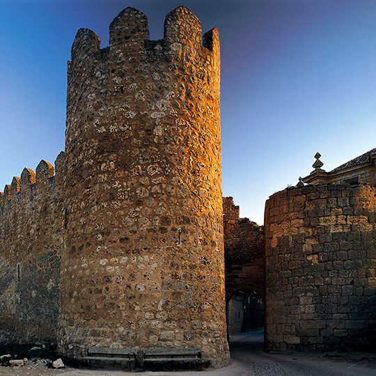 Town wall of Urueña, Valladolid