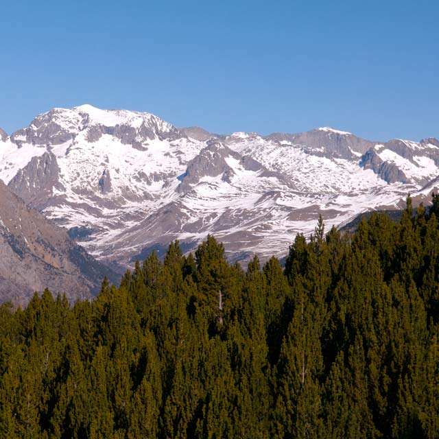 The Pyrenees in Huesca