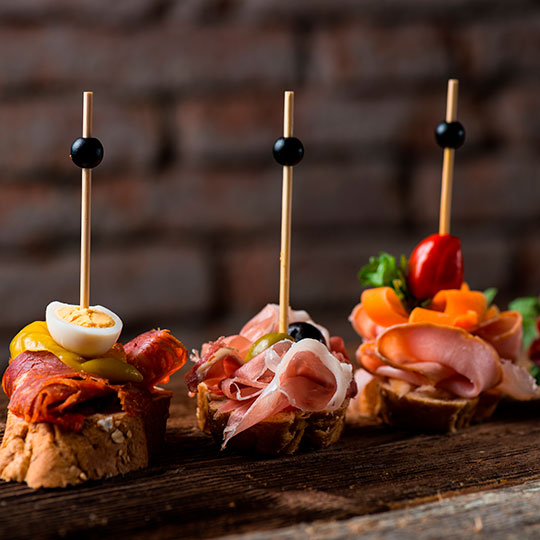 Selection of tapas