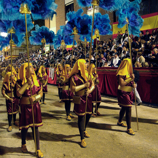 Easter parades in Lorca