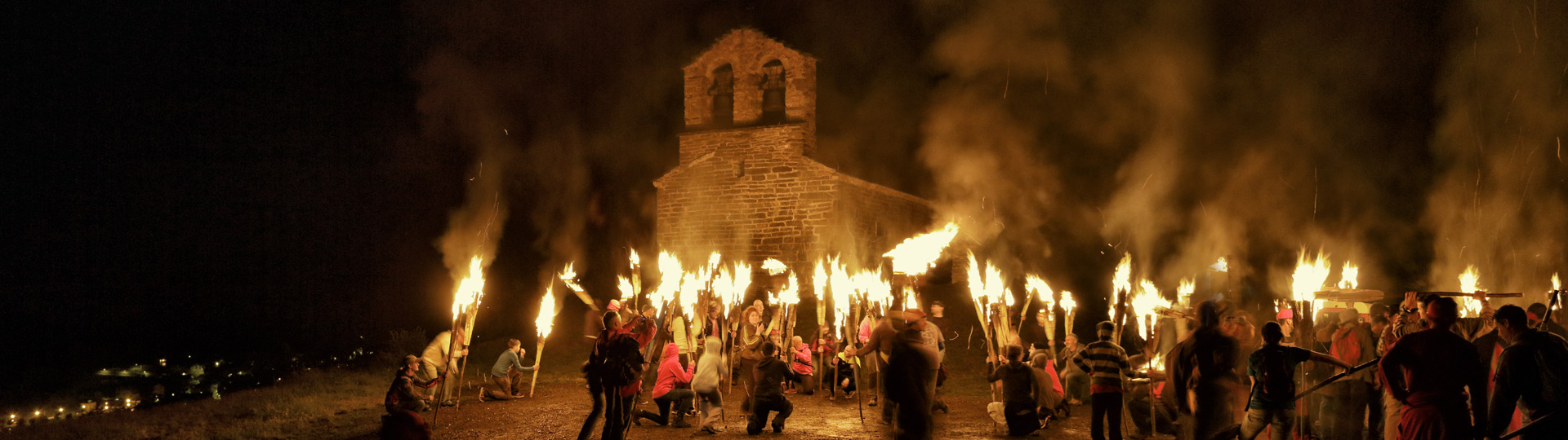 Summer solstice festivals in the Pyrenees.