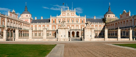 View of Aranjuez Palace