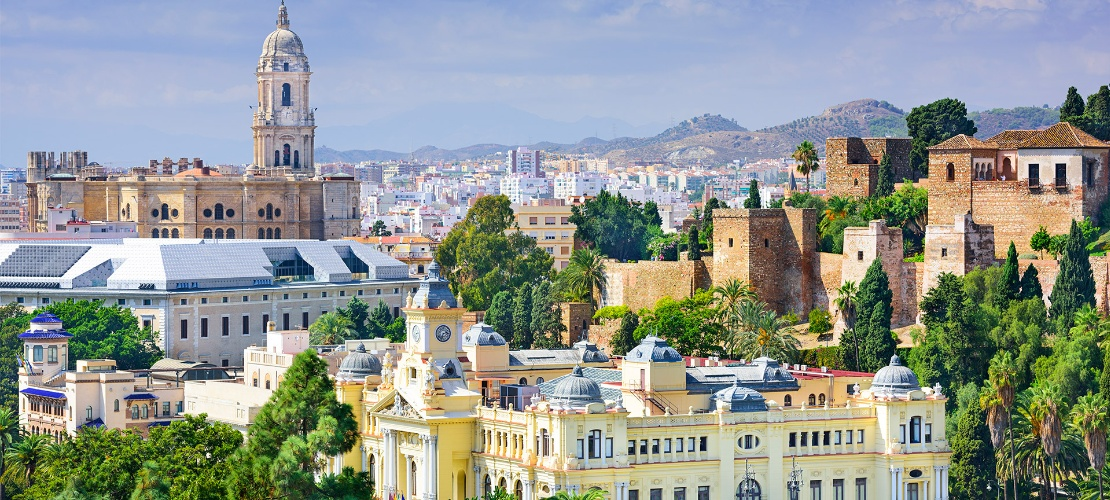 General view of Malaga