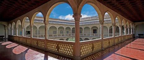 Courtyard of Santa Cruz Hospital, Toledo