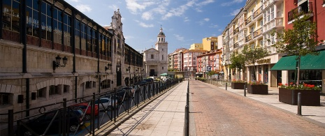Markt San Francisco in Santander