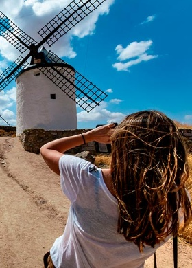 Windmills in Consuegra, Toledo
