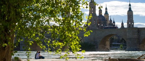 Stone Bridge and Basilica of El Pilar
