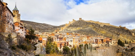 View of Albarracín. Teruel