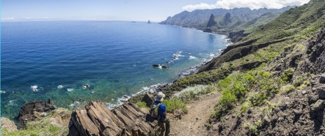 Hiking in Anaga Rural Park in Tenerife