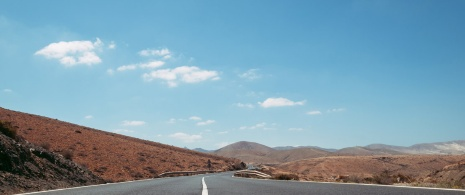 Road in Fuerteventura