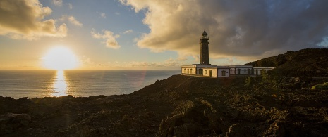 Orchilla lighthouse in El Hierro