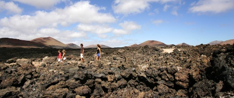 Los Volcanes Nature Reserve on Lanzarote