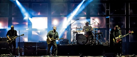 Pixies performing at the Primavera Sound festival. Barcelona