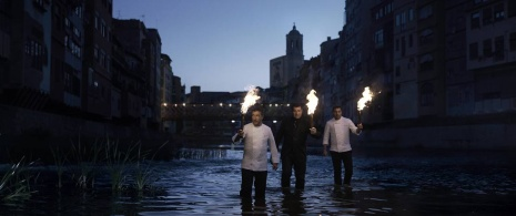 The Roca brothers in a publicity shot for their restaurant El Celler de Can Roca