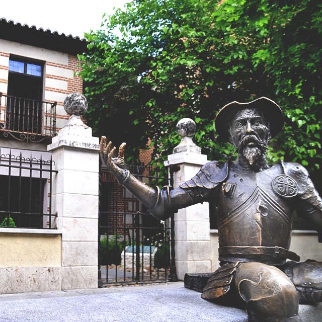 Cervantes' Birthplace House Museum in Alcalá de Henares