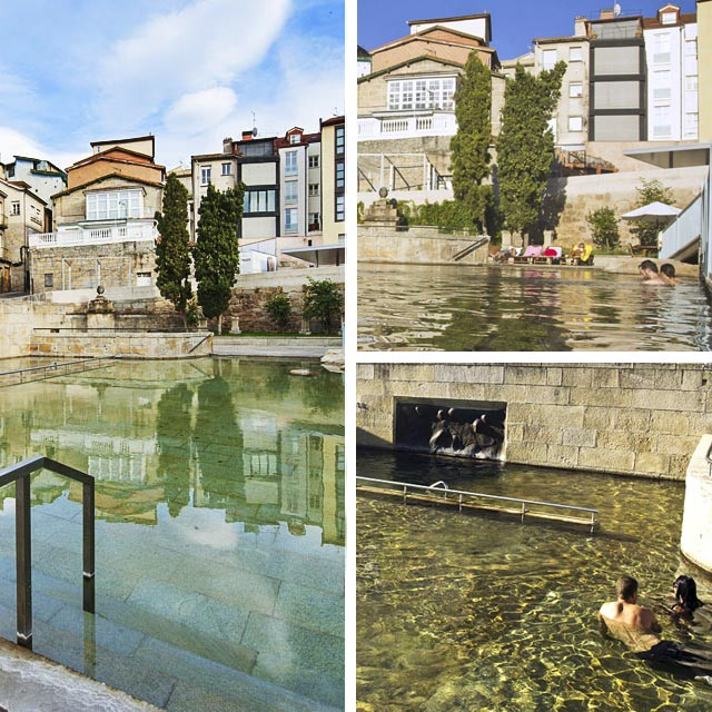 Collage As Burgas, Ourense