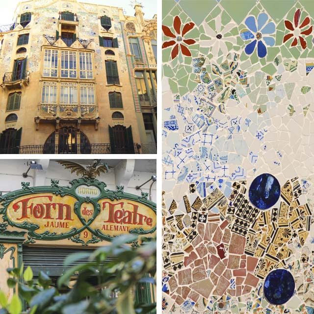 Examples of Art Nouveau in Palma