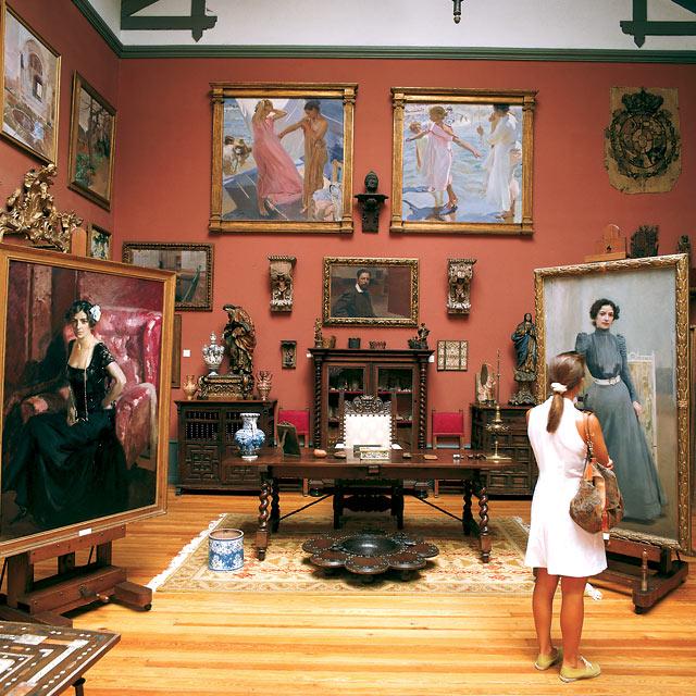 Room in the Sorolla Museum, Madrid