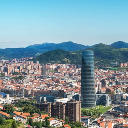 Views of the city of Bilbao