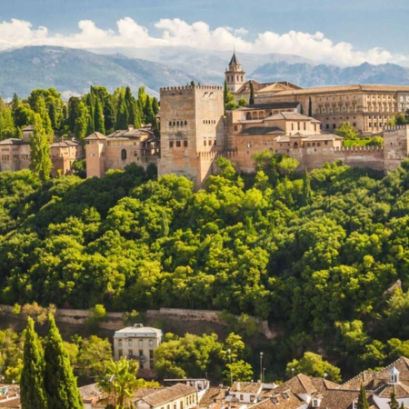 Views of the Alhambra, Granada