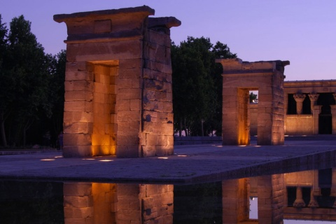 Debod-Tempel in Madrid