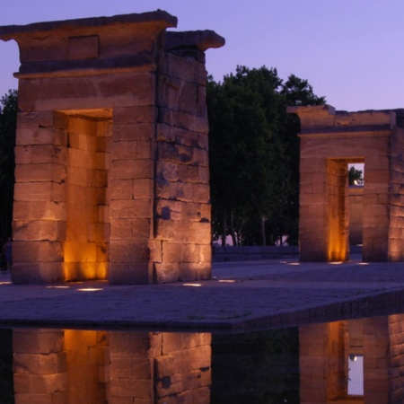 Temple of Debod, Madrid