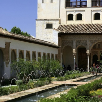 Patio de la Acequia courtyard, Generalife