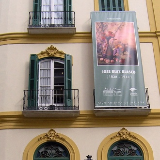 Façade of the Pablo Ruiz Picasso House-Museum