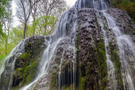 Waterfall at Piedra Monastery. Nuévalos. Zaragoza