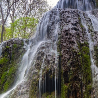 Waterfall at the Monasterio de Piedra, Nuévalos