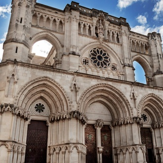Façade of Cuenca Cathedral