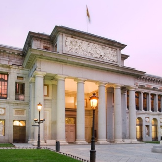 Exterior of the Prado Museum