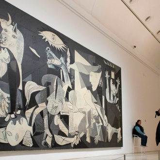 Guernica von Picasso, Nationales Kunstmuseum Reina Sofía