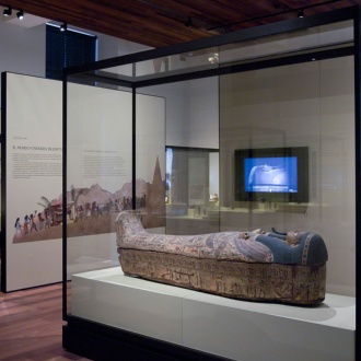 Egypt Room. National Archaeological Museum. Madrid