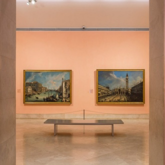 View of a gallery in the museum
