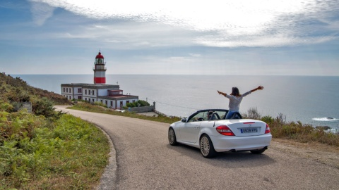 Tour of the lighthouses of Galicia