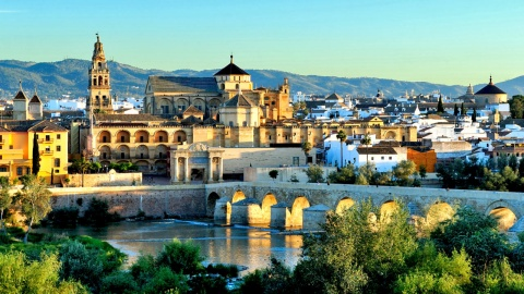 View of Córdoba and the Mosque of Cordoba